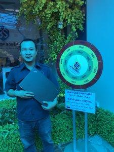 Khách quay trúng thưởng tại Laptop3mien.vn