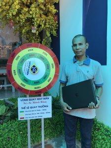 Anh Giang - đã mua sản phẩm Dell Precision M4800- Laptop3mien.vn