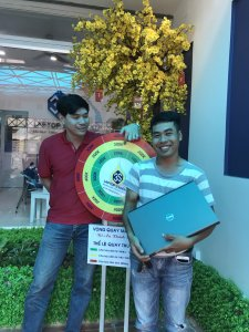 Anh Lê Hoàng Tuấn Kiệt - đã mua sản phẩm Dell Precision M6800 - Laptop3mien