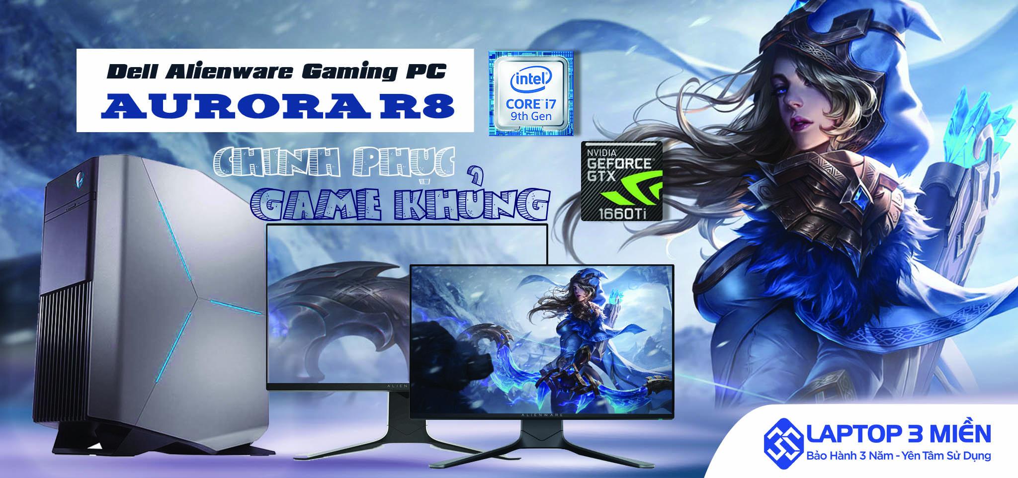 Dell Alienware Gaming PC Aurora R8 - Lối vào hoàn hảo để chơi game cao cấp